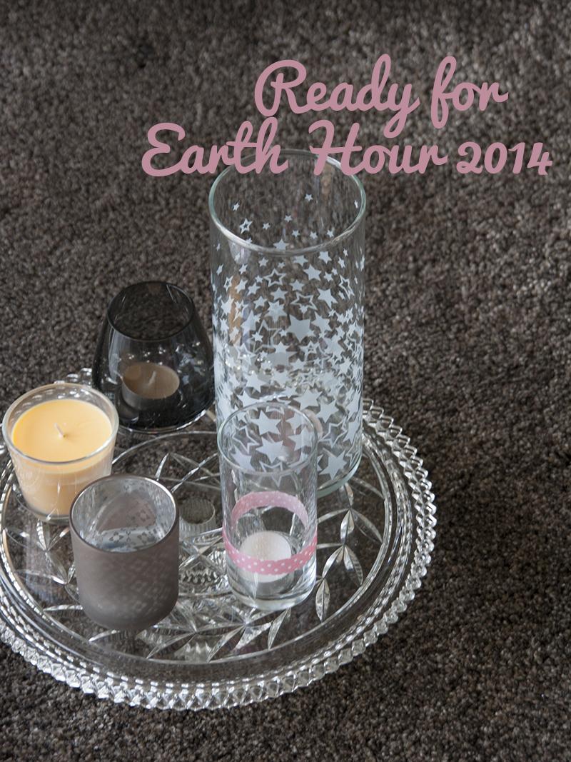 Earth Hour WNF kaarsjes gezelligheid warmte