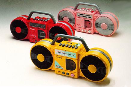 Philips Roller Radio
