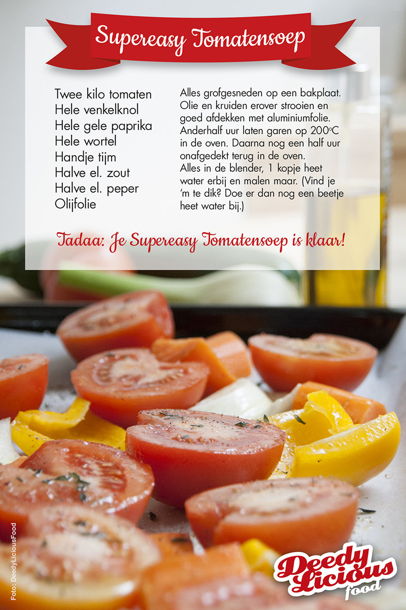 Supereasy tomatensoep