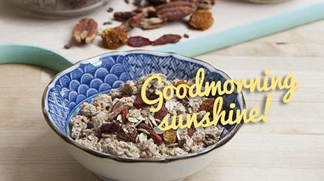 Muesli uitgelicht goodmorning sunshine!