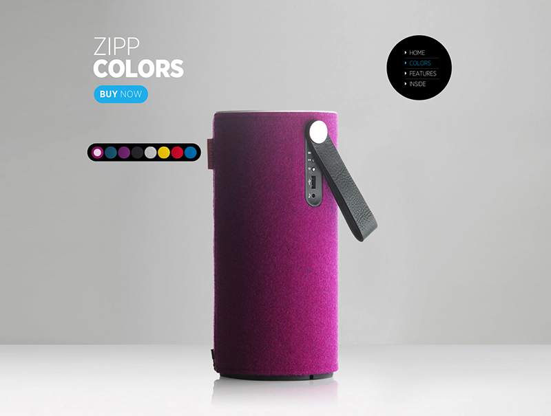 Screen Libratone Zipp kleuren