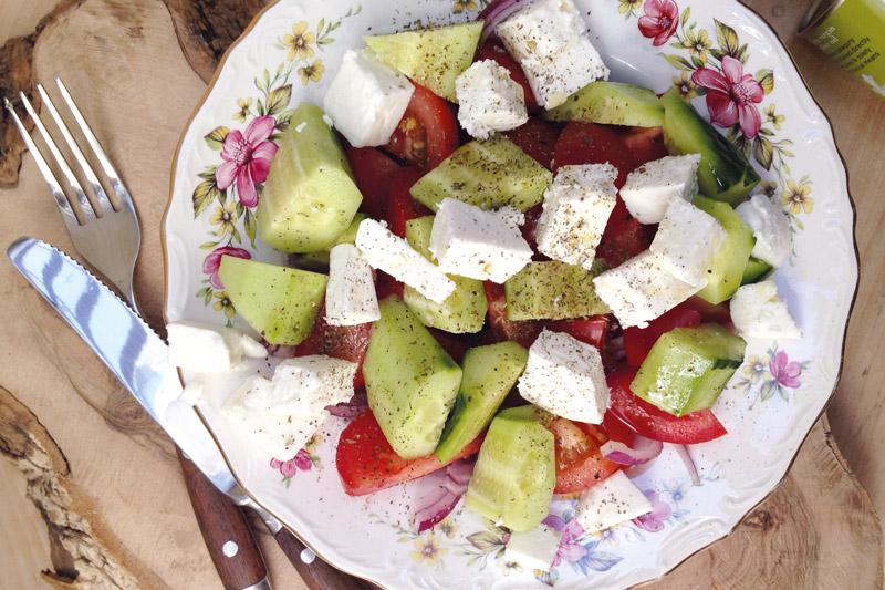 Griekse salade | www.deedylicious.nl