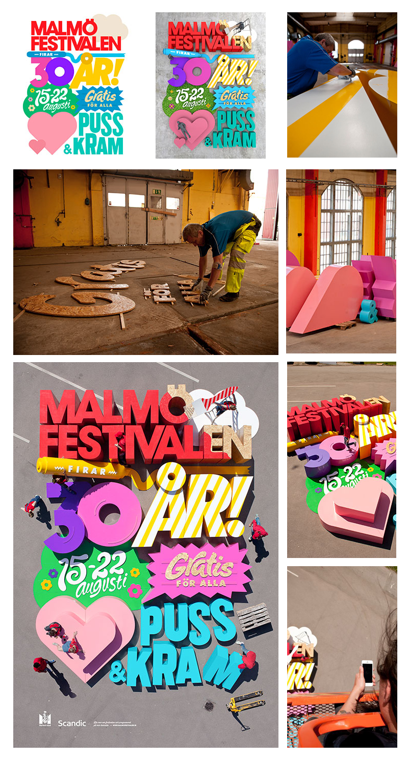 Malmö Festival - sterk Grafisch Design