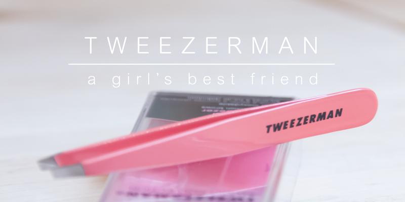 Tweezerman, a girl's best friend | www.deedylicious.nl