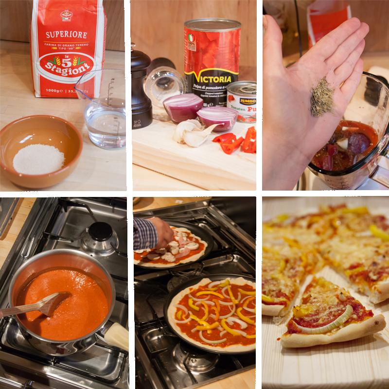 Homemade Pizza met zelfgemaakte pizzasaus | www.deedylicious.nl