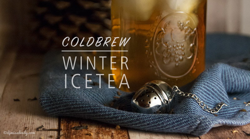 Coldbrew Winter Ice tea | www.deedylicious.nl