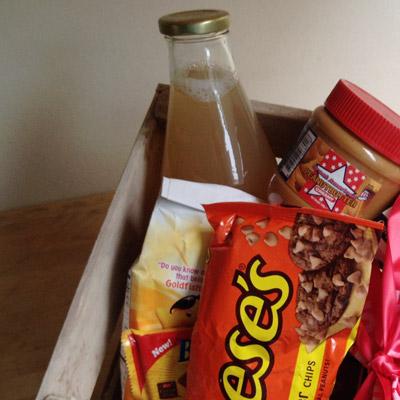 Brownie met Reese's Peanut Butter Chips | www.deedylicious.nl