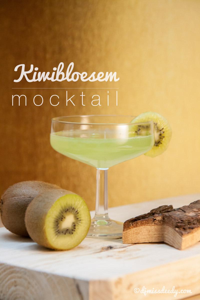 Kiwibloesem mocktail | www.djmissdeedy.com