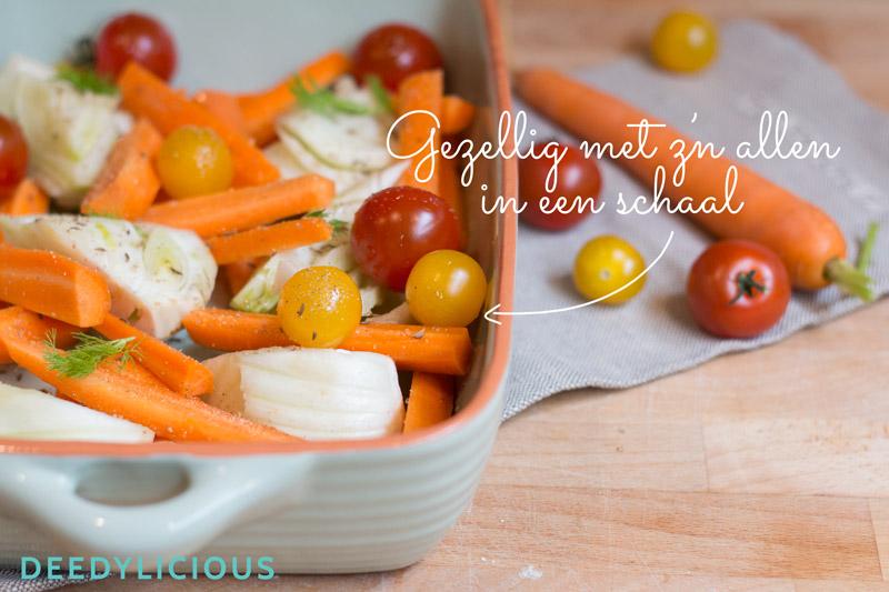 Geroosterde Venkel couscous | www.deedylicious.nl