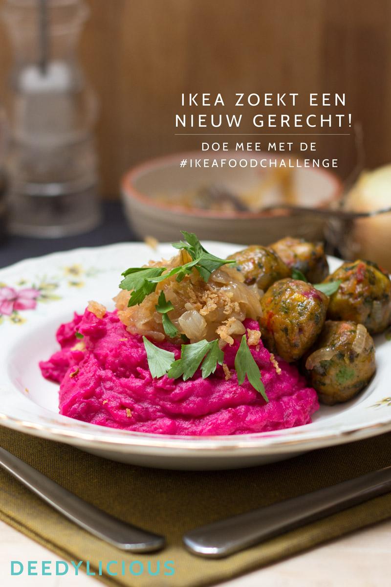 Bietenstamppot - IKEA Food Challenge | www.deedylicious.nl