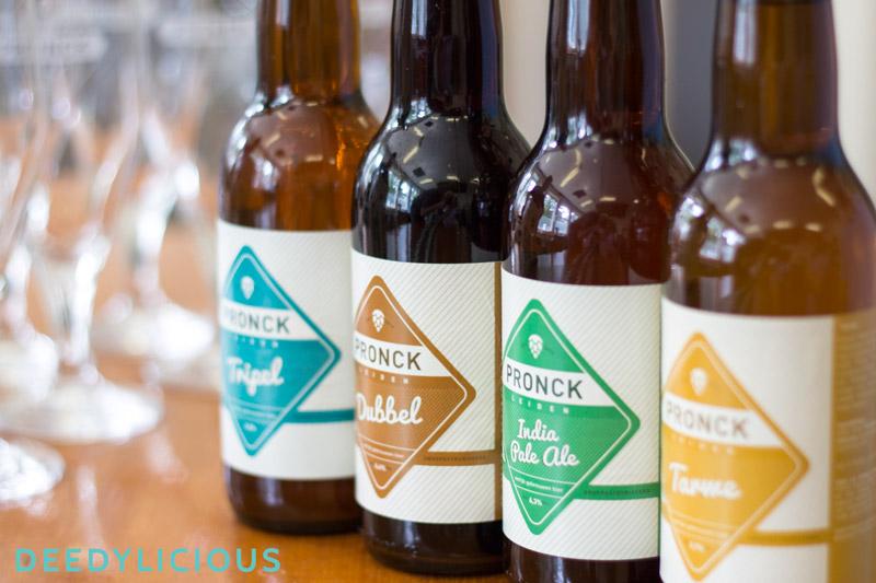 Pronck bier, eerlijk gebrouwen bier uit Leiden   www.deedylicious.nl