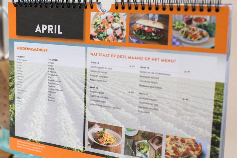 Eetkalender 2017, de lekkerste kalender van Nederland!   www.deedylicious.nl