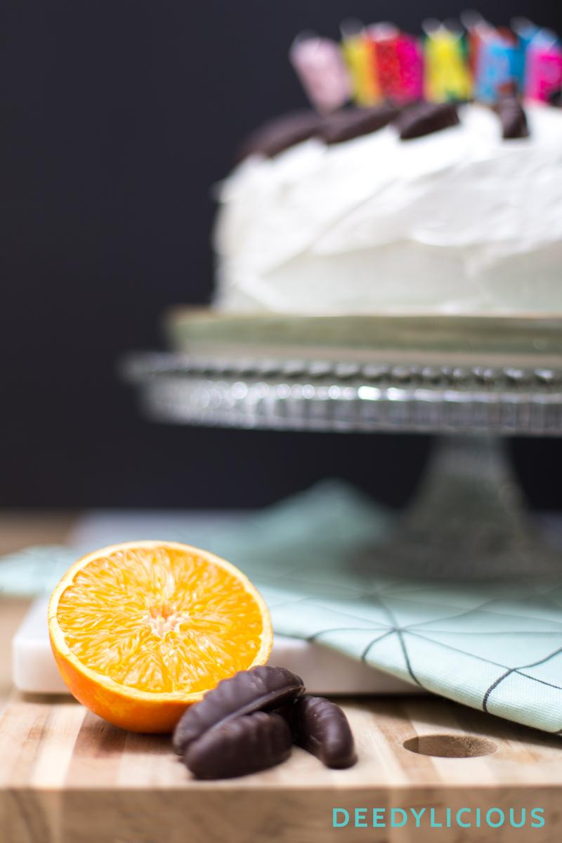 Citrus Meringuetaart met Sinassnippers | www.deedylicious.nl