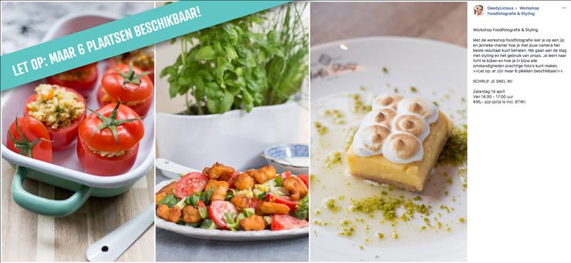 Workshop Foodfotografie & Styling | www.deedylicious.nl