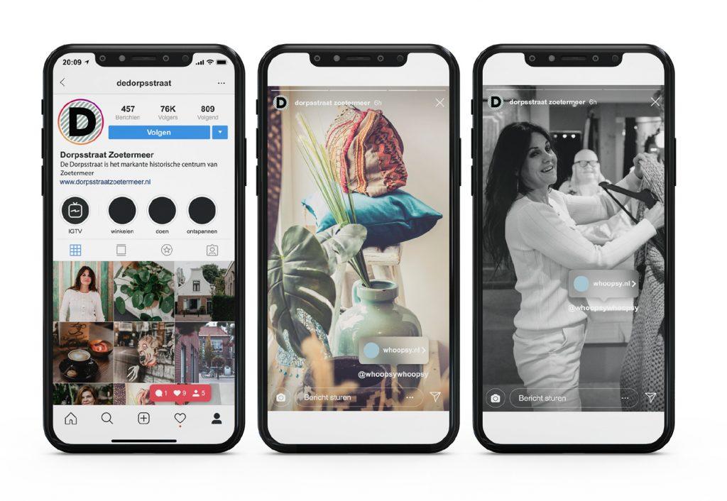 Social media smartphones